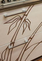 Фасад Бамбук, стиль Кантри