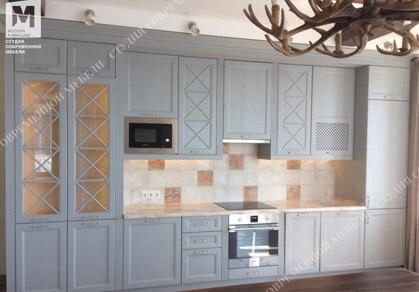 у вас есть фотография кухни с фасадами Бьянка? Присылайте нам