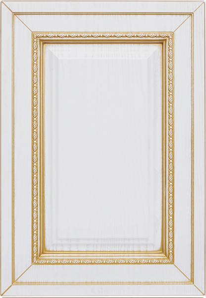 Ривьера-к7, текстурный белый, золотое устарение