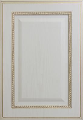 Барселона-к5, текстурный белый, золотое устарение