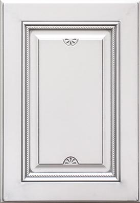 Астория-к2, эмаль белая, серебряное устарение