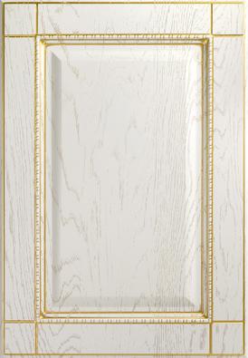 Корсика-к8, роялвуд белый, золотое устарение