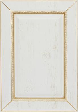 Версаль-к9, белое дерево, золотое устарение