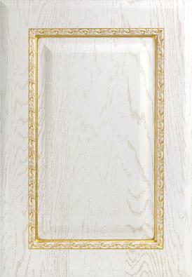 Босфор-к10, роялвуд белый, золотое устарение