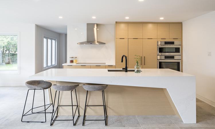 кухня минималистический дизайн